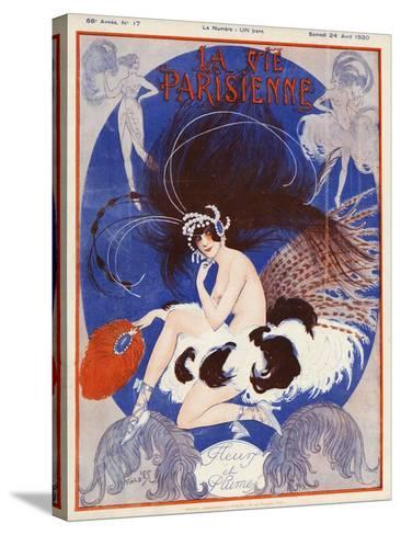 La vie Parisienne, Vald'es, 1920, France--Stretched Canvas Print