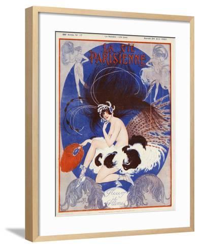La vie Parisienne, Vald'es, 1920, France--Framed Art Print