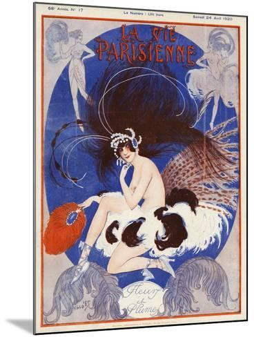 La vie Parisienne, Vald'es, 1920, France--Mounted Giclee Print