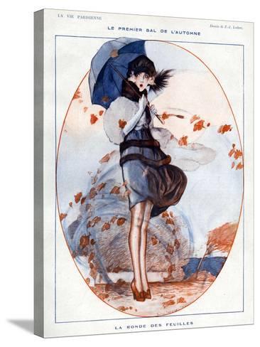 La Vie Parisienne, Julien Jacques Leclerc, 1919, France--Stretched Canvas Print