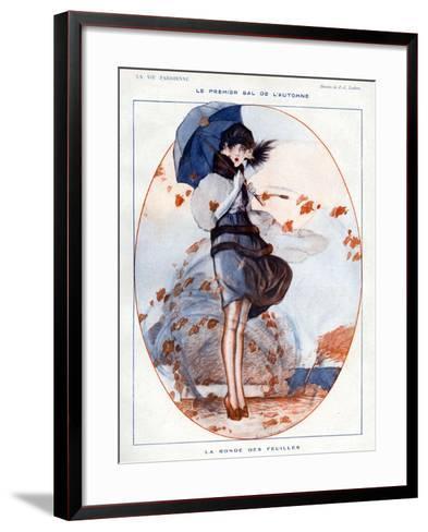 La Vie Parisienne, Julien Jacques Leclerc, 1919, France--Framed Art Print
