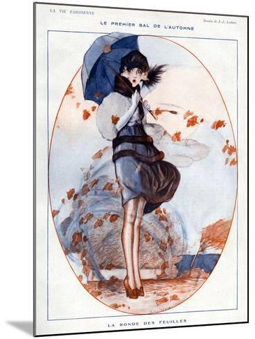 La Vie Parisienne, Julien Jacques Leclerc, 1919, France--Mounted Giclee Print