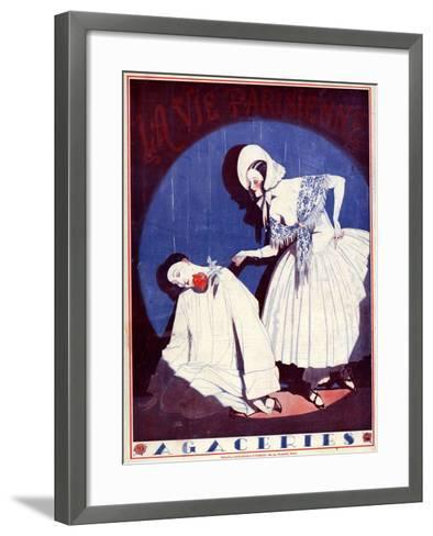 La Vie Parisienne, 1923, France--Framed Art Print