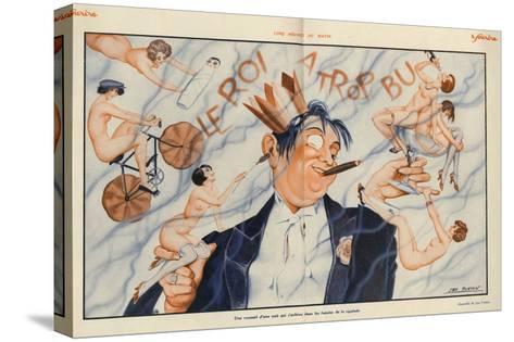Le Sourire, 1928, France--Stretched Canvas Print