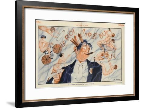 Le Sourire, 1928, France--Framed Art Print