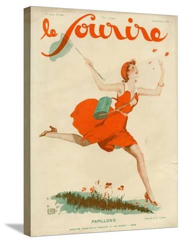 Le Sourire, 1930, France--Stretched Canvas Print