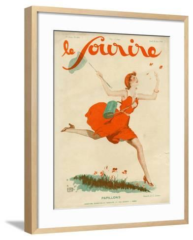 Le Sourire, 1930, France--Framed Art Print