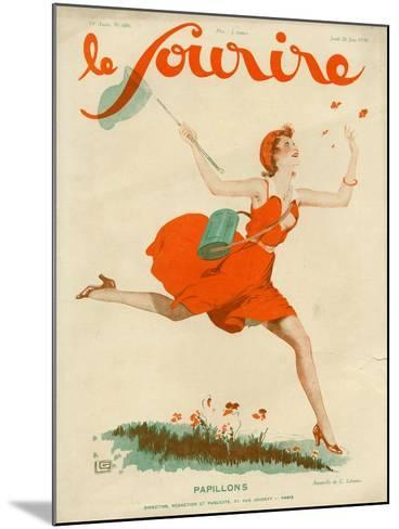 Le Sourire, 1930, France--Mounted Giclee Print