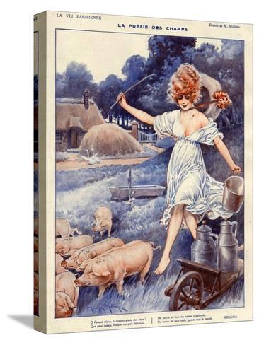 La Vie Parisienne, Maurice Milliere, 1919, France--Stretched Canvas Print