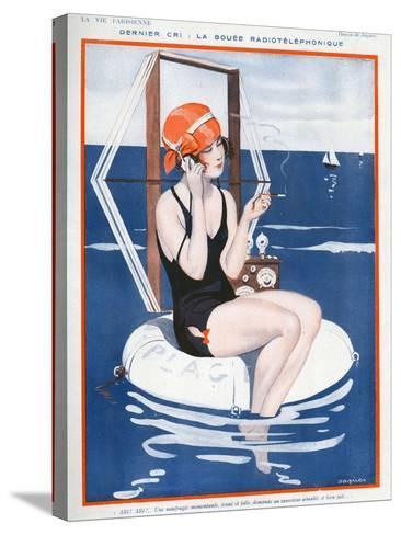 La Vie Parisienne, Jaques, 1923, France--Stretched Canvas Print