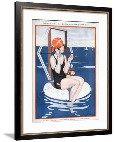 La Vie Parisienne, Jaques, 1923, France--Framed Art Print