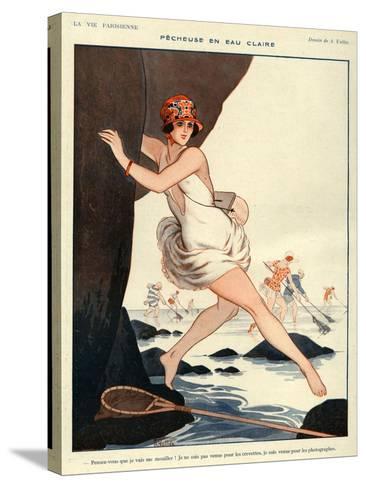 La Vie Parisienne, Armand Vallee, 1923, France--Stretched Canvas Print
