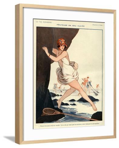 La Vie Parisienne, Armand Vallee, 1923, France--Framed Art Print