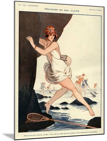 La Vie Parisienne, Armand Vallee, 1923, France--Mounted Giclee Print