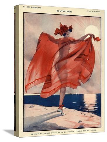 La Vie Parisienne, Leo Fontan, 1923, France--Stretched Canvas Print