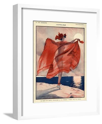 La Vie Parisienne, Leo Fontan, 1923, France--Framed Art Print