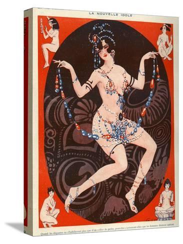 La Vie Parisienne, Vald'es, 1929, France--Stretched Canvas Print