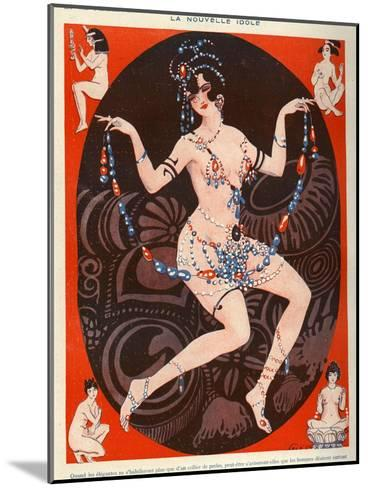 La Vie Parisienne, Vald'es, 1929, France--Mounted Giclee Print