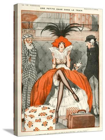 La Vie Parisienne, Julien Jacques Leclerc, 1920, France--Stretched Canvas Print
