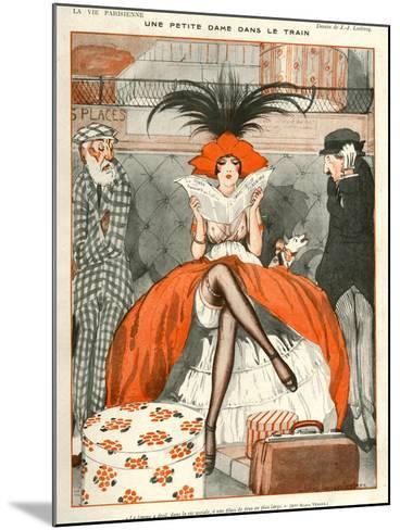 La Vie Parisienne, Julien Jacques Leclerc, 1920, France--Mounted Giclee Print