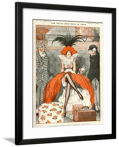 La Vie Parisienne, Julien Jacques Leclerc, 1920, France--Framed Art Print