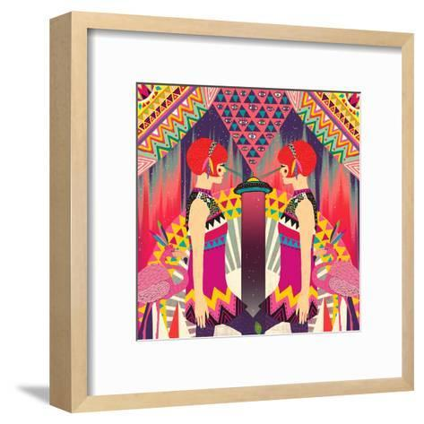 II-Diela Maharanie-Framed Art Print
