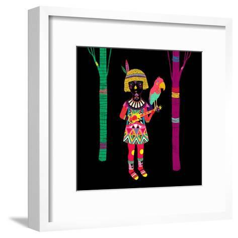 I Don't Have Any Title-Diela Maharanie-Framed Art Print