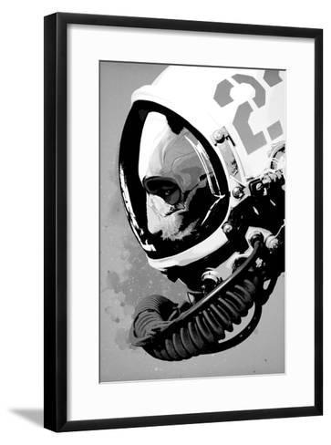 Astro Bear-Hidden Moves-Framed Art Print
