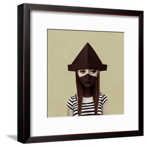 Ceci N'Est Pas Un Chapeau-Ruben Ireland-Framed Art Print