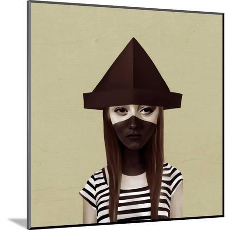 Ceci N'Est Pas Un Chapeau-Ruben Ireland-Mounted Art Print