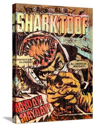 Star Spangled Shark Toof-Shark Toof-Stretched Canvas Print
