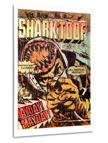 Star Spangled Shark Toof-Shark Toof-Metal Print