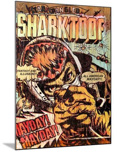 Star Spangled Shark Toof-Shark Toof-Mounted Art Print