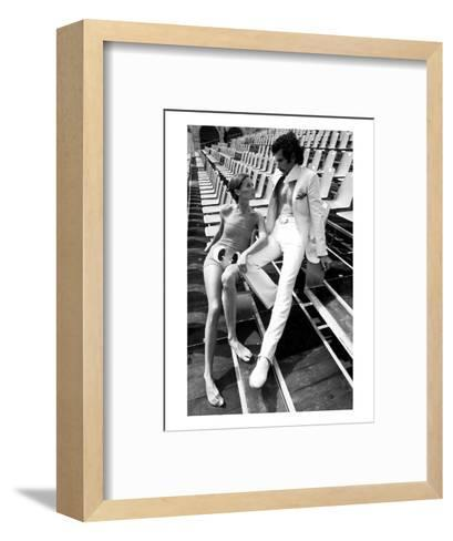 GQ - February 1971-Eva Sereny-Framed Art Print