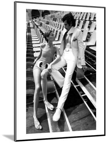 GQ - February 1971-Eva Sereny-Mounted Premium Photographic Print