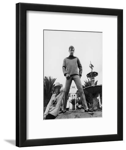 GQ - October 1967-Leonard Nones-Framed Art Print