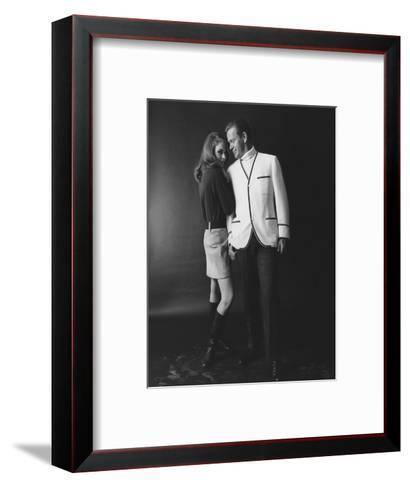 GQ - February 1967-Leonard Nones-Framed Art Print