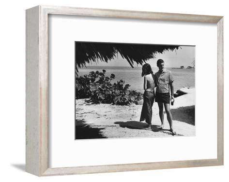 GQ - June 1966-Peter Levy-Framed Art Print