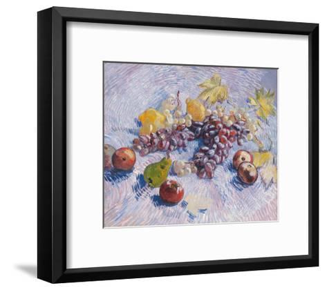 Grapes, Lemons, Pears, and Apples, 1887.-Vincent van Gogh-Framed Art Print