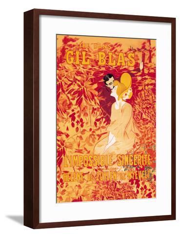 Gil Blas-Leonetto Cappiello-Framed Art Print