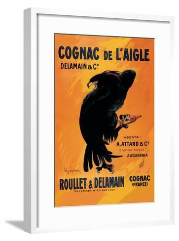 Cognac De L'Aigle-Leonetto Cappiello-Framed Art Print