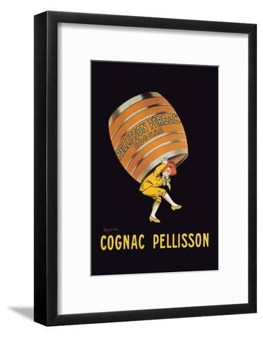 Cognac Pellisson - Barrel-Leonetto Cappiello-Framed Art Print