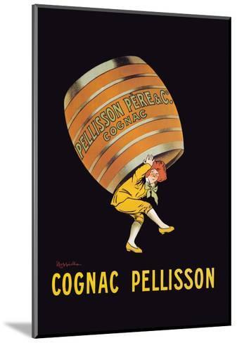 Cognac Pellisson - Barrel-Leonetto Cappiello-Mounted Art Print