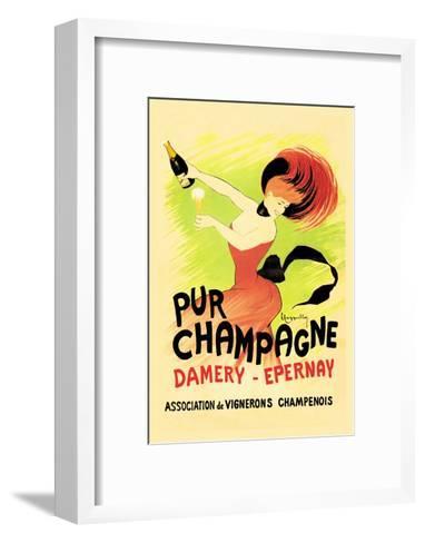 Pur Champagne-Leonetto Cappiello-Framed Art Print