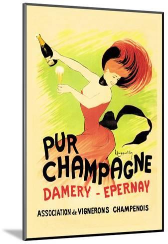Pur Champagne-Leonetto Cappiello-Mounted Art Print