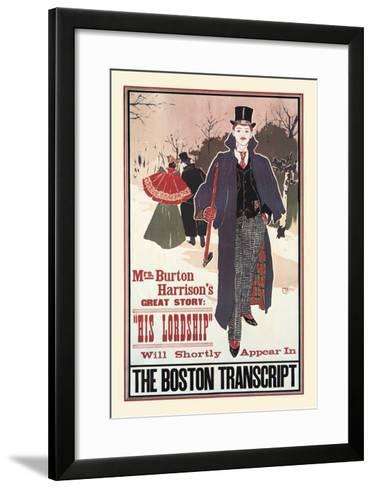 His Lordship-Louis John Rhead-Framed Art Print