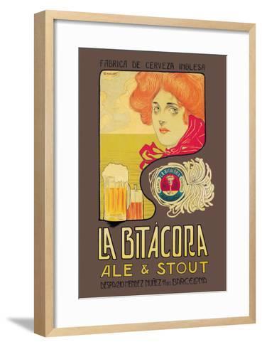 La Bitacora Ale and Stout-Barral Nualart-Framed Art Print