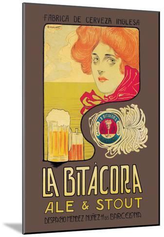 La Bitacora Ale and Stout-Barral Nualart-Mounted Art Print