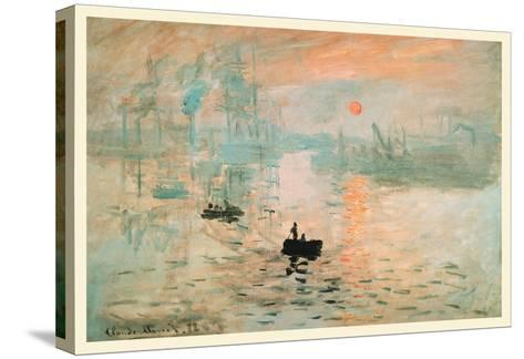 Impression Sunrise-Claude Monet-Stretched Canvas Print