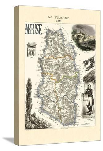 Meuse-Par M. Vuillemin-Stretched Canvas Print